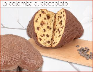 la colomba al cioccolato