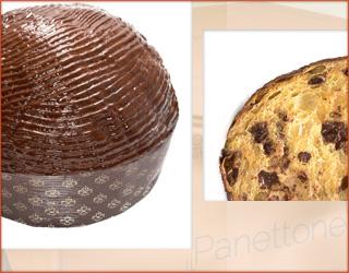 il Panettone Gocce di Cioccolato