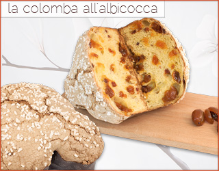La colomba all'albicocca