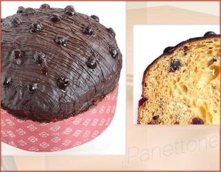 il Panettone ciliegia e cioccolato